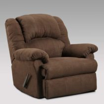 Aruba Chocolate 1000 Chaise Rocker Recliner