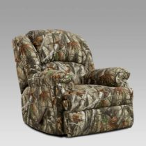 Camouflage Chaise Rocker Recliner
