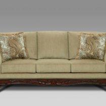 Ashanti Platinum Sofa
