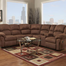 Aruba Chocolate Sectional