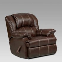 Brandon Brown Chaise Rocker Recliner