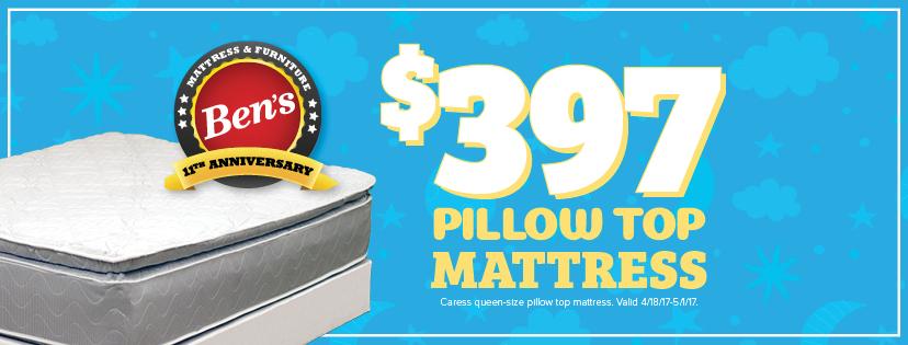 Sale on Queen Size Pillow Top Mattress