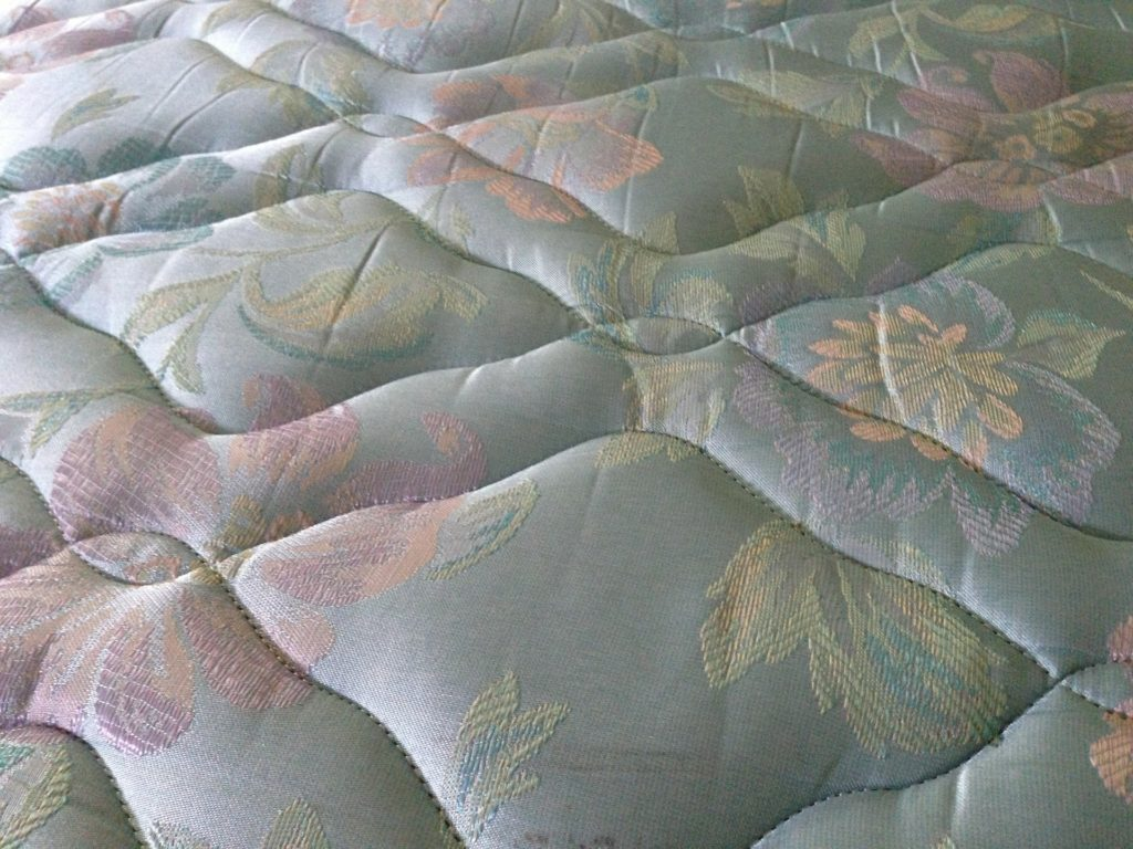 Close Up of a Mattress