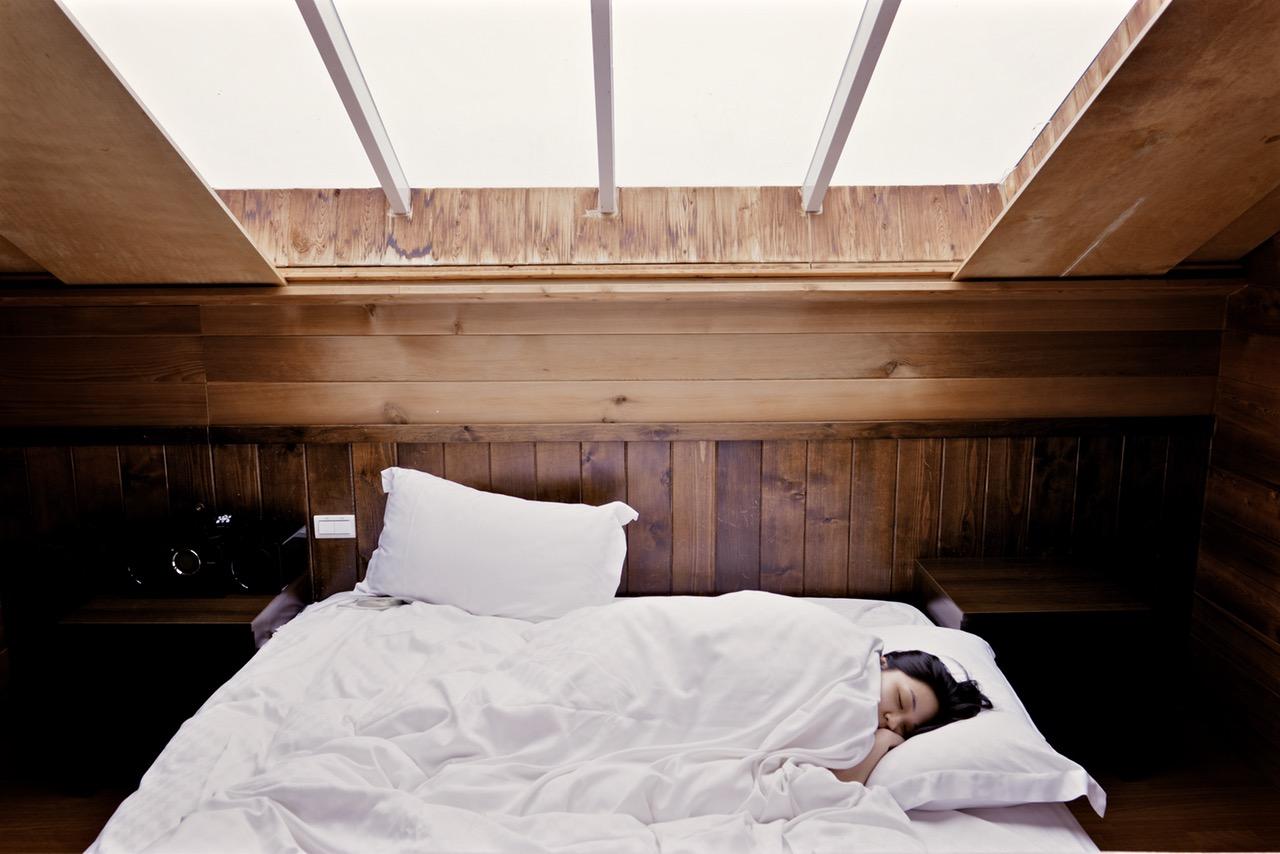 A Girl Sleeping Restfully