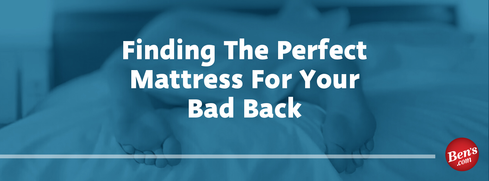 Finding The Perfect Mattress For Your Bad Back
