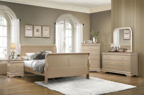 Hershel 3 Piece Bedroom Set