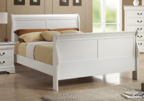 Louis Philippe Queen Bed