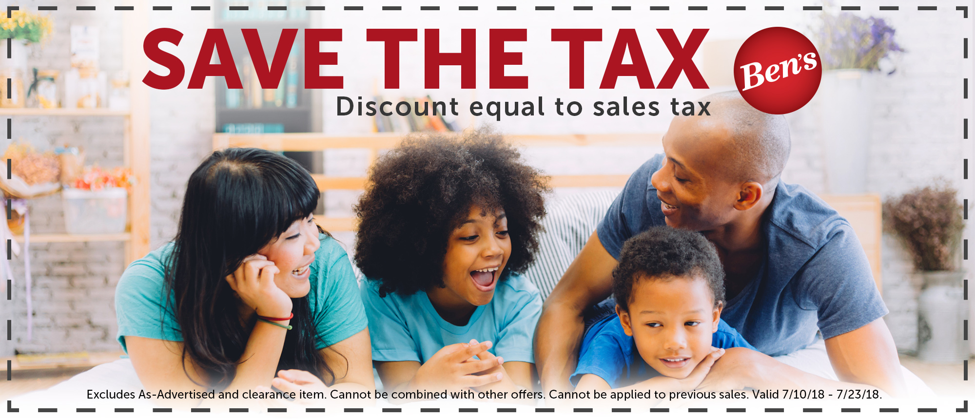 Save The Tax _ for Coupons