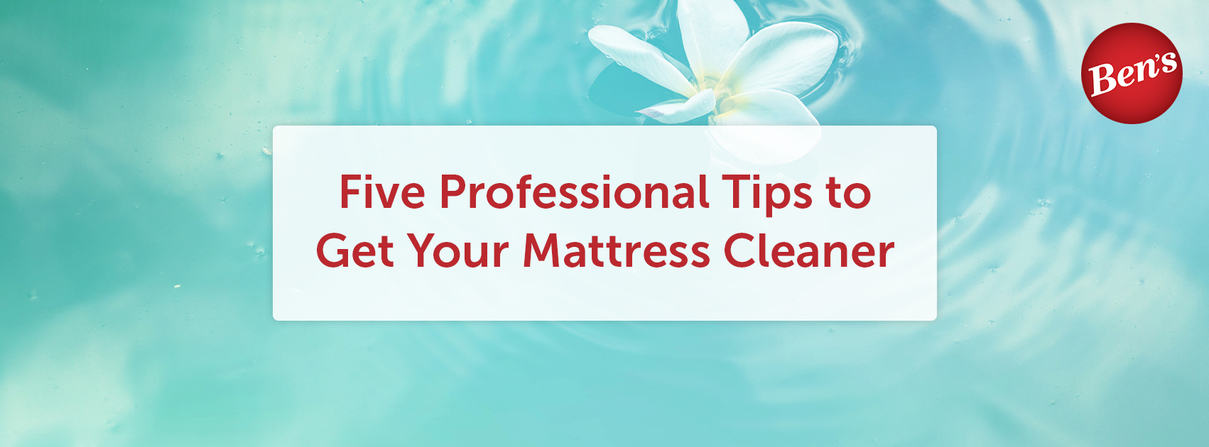Five Professional Tips to Get Your Mattress Cleaner