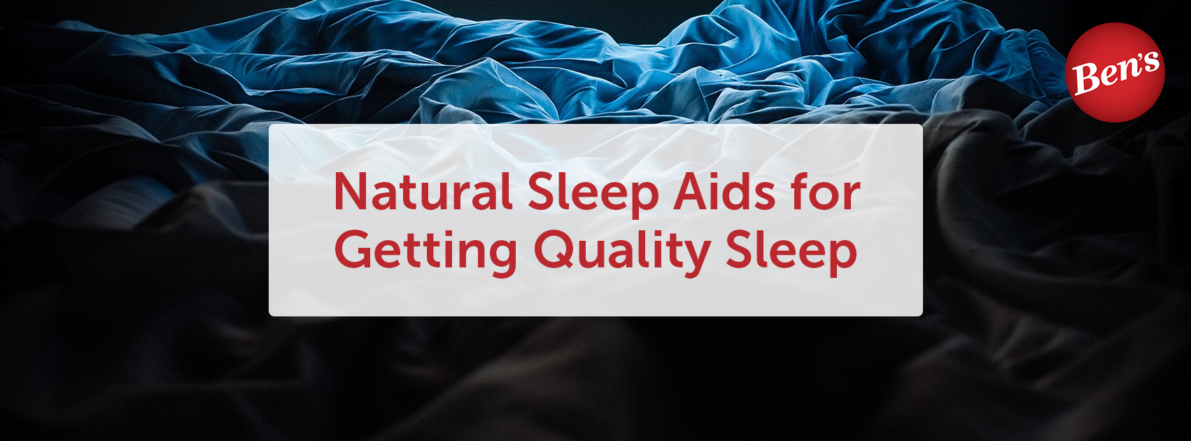 Natural Sleep Aids for Getting Quality Sleep