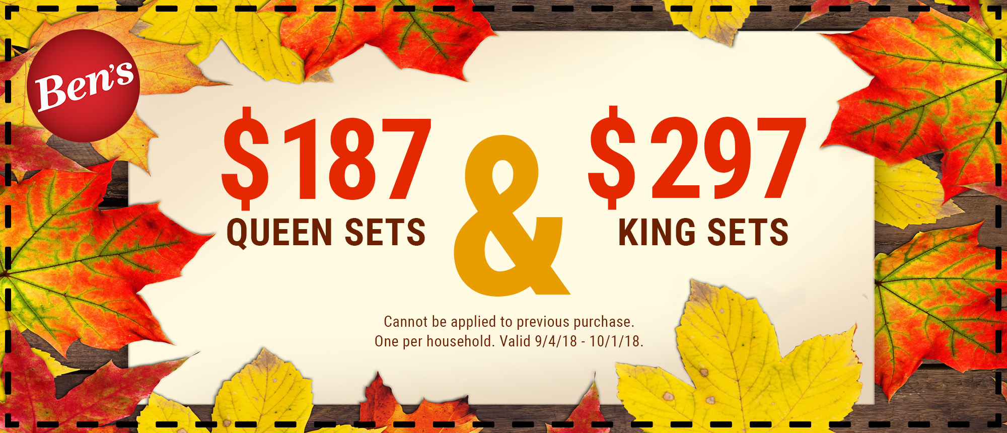 $187 Queen & $297 King _ Website