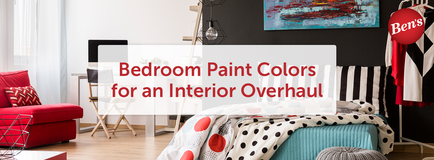 Bedroom Paint Colors for an Interior Overhaul