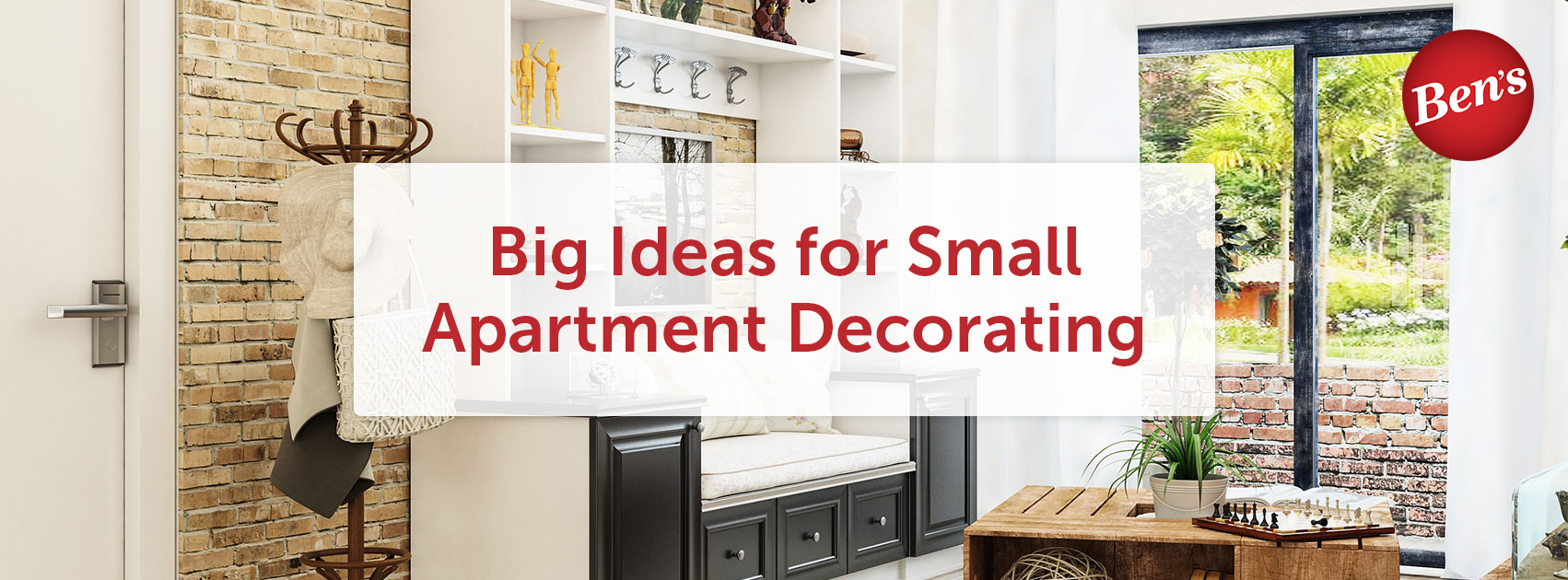 Big Ideas for Small Apartment Decorating