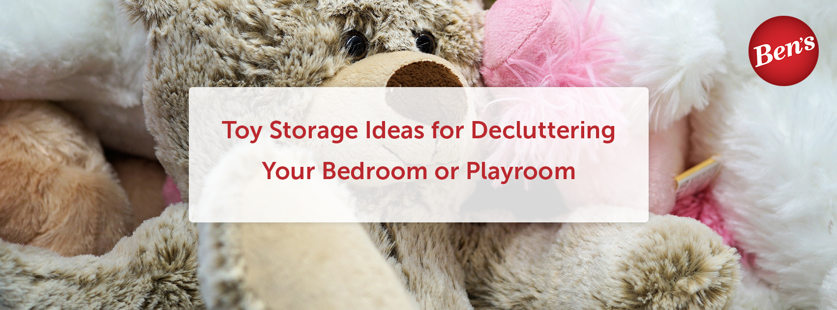 Toy Storage Ideas for Decluttering Your Bedroom or Playroom