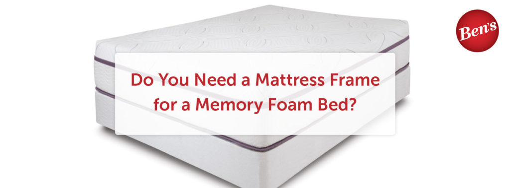 High-quality memory foam bed with a white background.