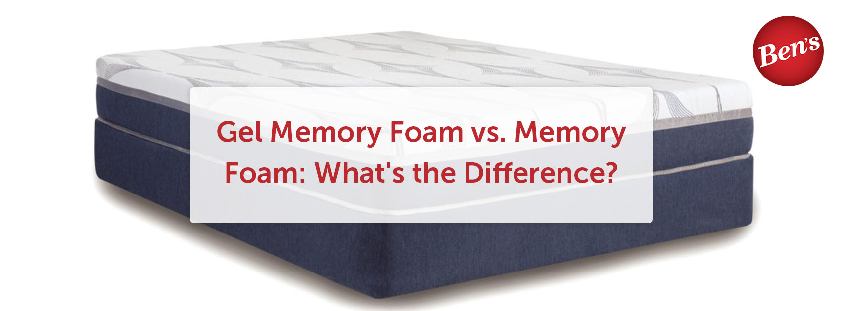 gel memory foam bed on a white background.